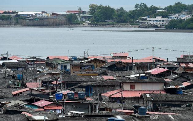 """El lugar es punto estratégico para el envío de droga hacia Estados Unidos desde el Pacífico, y un escenario de """"crimen transnacional"""". Foto: AFP"""