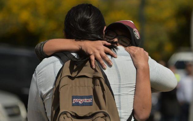 La última comunicación con sus familiares se produjo la noche del pasado miércoles. Foto referencial: AFP