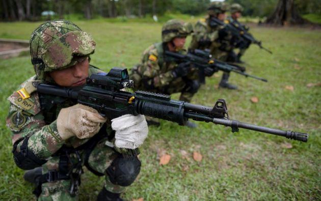 Por su parte el gobierno insiste en que no se doblegará a los pedidos de los narcoterroristas. Foto: AFP