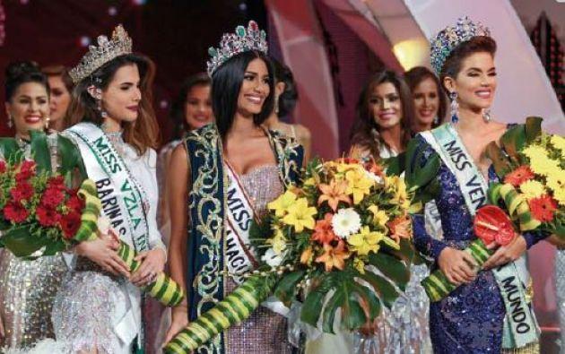 ¿La última Miss Venezuela? En noviembre coronaron a Sthefany Gutiérrez, no se sabe si irá a Miss Universo.