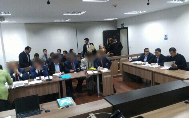 Entre las medidas, se dispuso el uso de dispositivos electrónicos y la prohibición de salida del país. Foto: Fiscalía