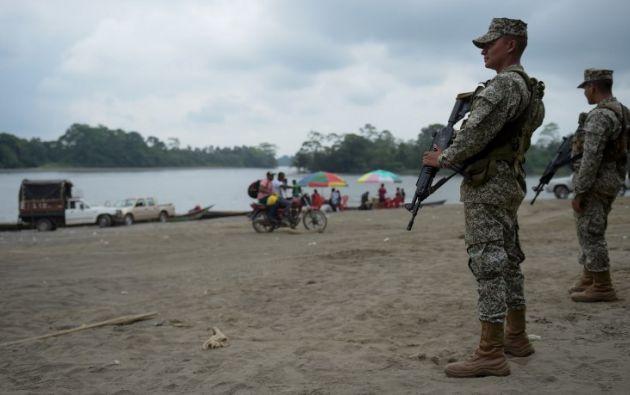 La advertencia surge tras los recientes hechos en la provincia de Esmeraldas, entre secuestros, asesinatos y atentados. Foto: AFP