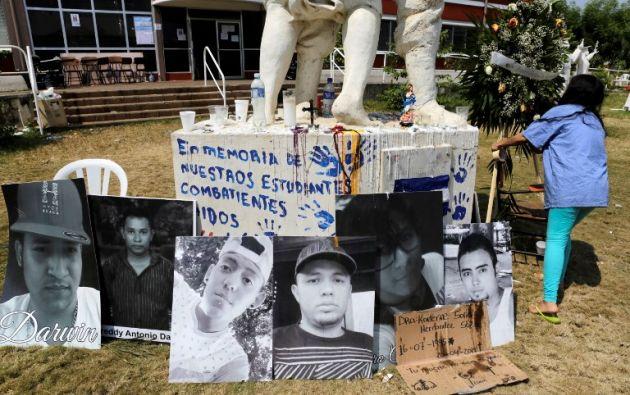 La cifra de muertos en las manifestaciones en contra de la administración de Daniel Ortega en Nicaragua creció a 42. Foto: AFP