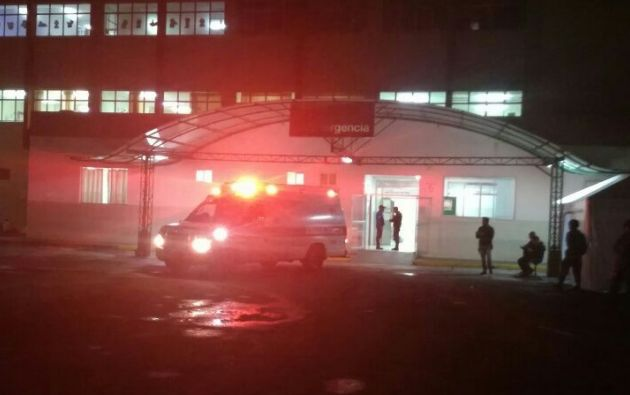 Tras comprobarse que todo estaba en regla, los pacientes evacuados regresaron al centro hospitalario.