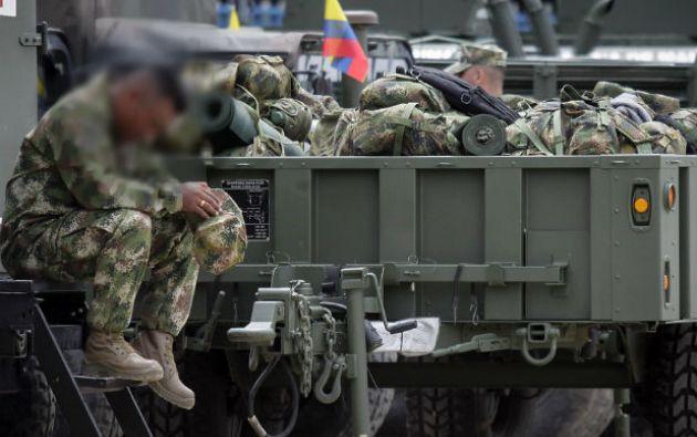 Dos infantes de marina murieron y otro resultó herido en un ataque en el sur de Colombia. Foto: tomada de Colprensa