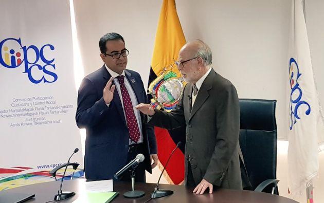"""Pérez manifestó que """"combatir contra el crimen organizado, corrupción y lavado de activos, será el eje de trabajo de la Fiscalía""""."""