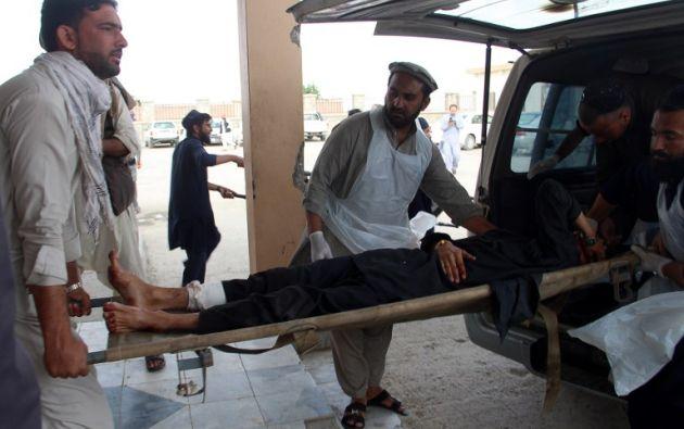 El número de víctimas podría aumentar en las próximas horas. Foto: AFP