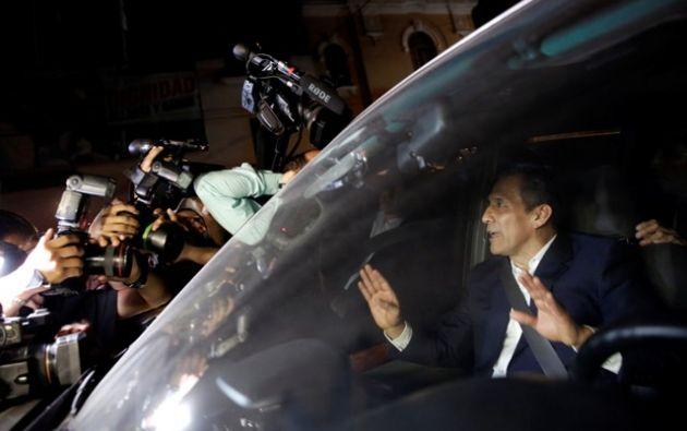 Humala es uno de los cuatro expresidentes investigados por las dádivas de Odebrecht en Perú. Foto: Reuters