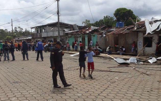 Reconstrucción de casas afectadas por coche bomba en San Lorenzo empezará esta semana. Referencial - Miduvi