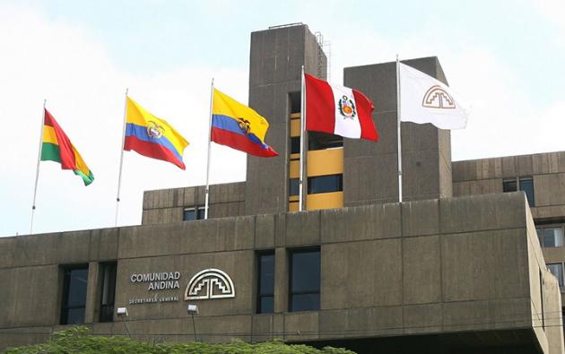 La Comunidad Andina está integrada por Bolivia, Colombia, Ecuador y Perú. Foto: Cancillería