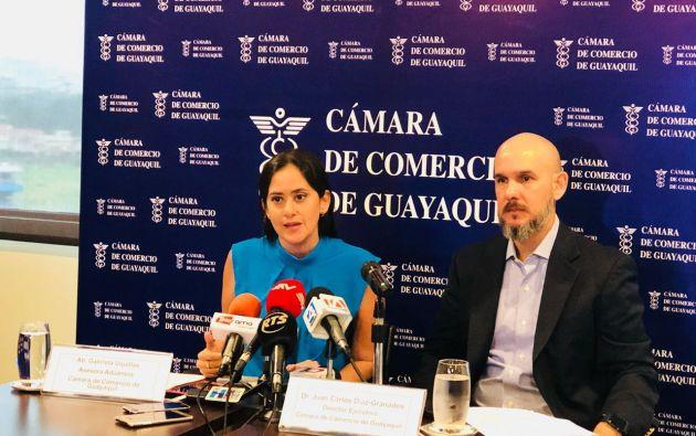 """""""La CAN ha calificado la tasa de control aduanero como un gravamen"""", señaló Juan Carlos Díaz-Granados."""
