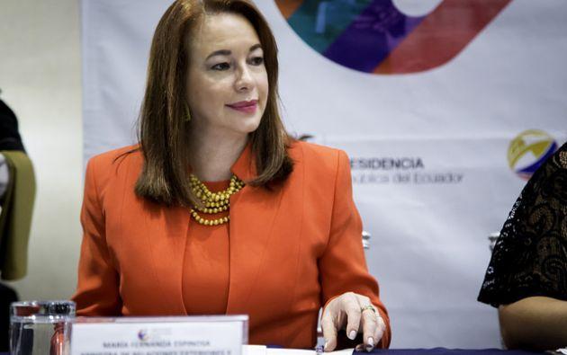 """Según Reyes, Espinosa habría realizado los viajes """"con la finalidad de promocionar su nombre personal"""" como aspirante a un alto cargo en la ONU."""