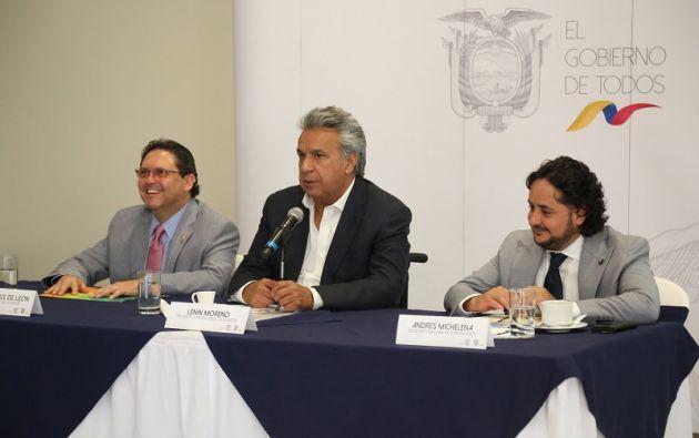 """""""Y es que en Ecuador todo está cerca y es uno de los países más megadiversos del mundo"""", indicó Moreno. Foto: Presidencia"""