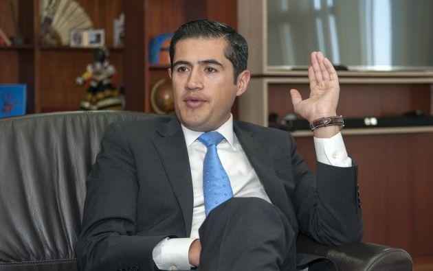 Richard Martínez ocupaba el cargo de presidente del Comité Empresarial Ecuatoriano. Foto: archivo