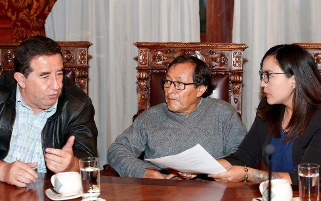 """Los familiares criticaron la actuación de las autoridades colombianas ya que afirmaron que el Gobierno """"no ha asumido su responsabilidad"""" en el caso. Foto: Secom"""
