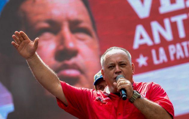 Con la sanción a Cabello prácticamente ya no quedan dirigentes venezolanos de importancia fuera de la mira del Departamento del Tesoro. Foto: archivo AFP