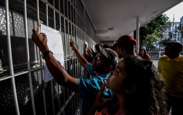 Unos 20,5 millones de electores están llamados a estos comicios adelantados y a una sola vuelta, que darán un mandato de seis años a partir de enero de 2019. Foto: AFP