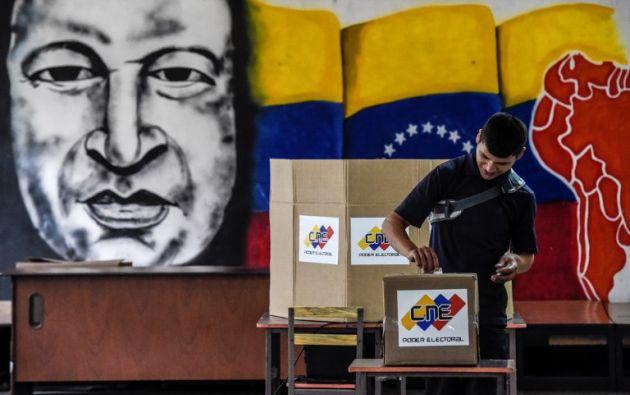 """El equipo de Bertucci ha contado 1.400 denuncias por irregularidades electorales """"todas documentadas"""". Foto: AFP"""