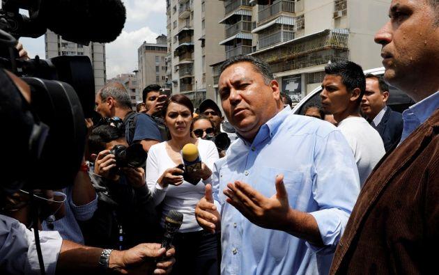 Bertucci adelantó que se trasladará a Caracas para formular ante el Consejo Nacional Electoral (CNE) estas denuncias. Foto: Reuters