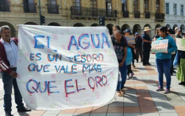 En las protestas las autoridades arrestaron a ocho personas contra las que se iniciaron procesos penales. | Foto: Corape