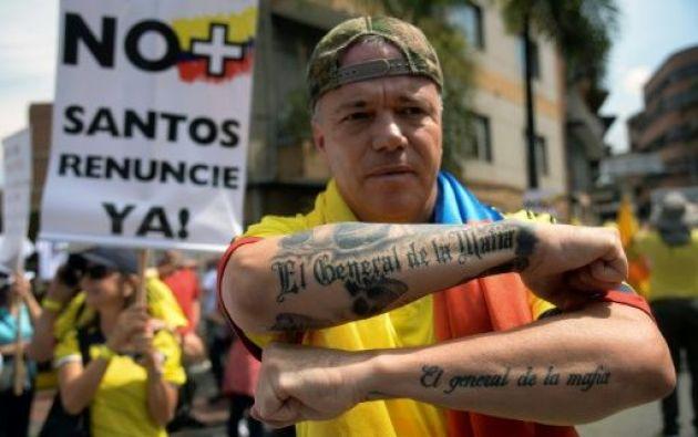 Jhon Jairo Velásquez, alias Ppopeye, uno de los sicarios que estuvo al servicio del abatido capo colombiano Pablo Escobar. Foto: archivo AFP