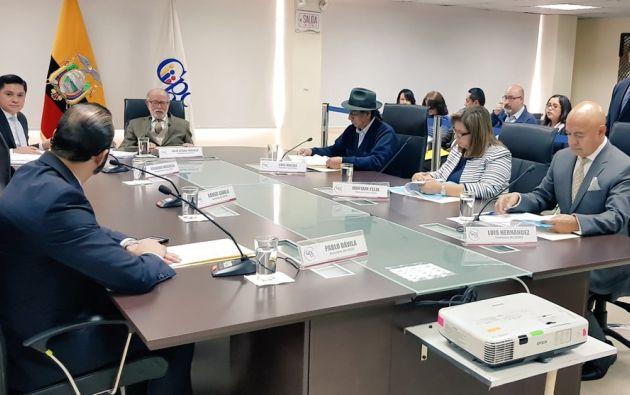 Los consejeros del CPCCST tendrán cinco días más, luego de la audiencia pública, para decidir si los funcionarios son cesados. Foto: CPCCS