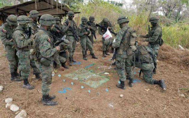 El soldado Wilson Ilaquiche lleva 14 días desaparecido. Foto: Referencial
