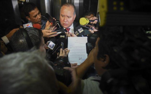 """La Constitución paraguaya establece que el presidente saliente """"será senador vitalicio"""", con voz pero sin voto. Foto: AFP"""