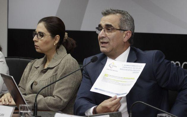 La Comisión de Fiscalización recibirá las pruebas de descargo de Gustavo Jalkh, presidente y los ocho vocales del Consejo de la Judicatura. Foto: Judicatura