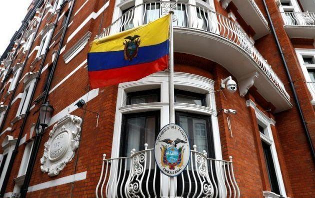 """El Gobierno retiró """"de forma inmediata"""" la seguridad adicional de la embajada de Ecuador en Londres. Foto: Reuters"""