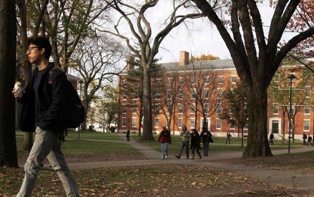 La Universidad Harvard está ubicada en Cambridge, Massachusetts. Foto: Reuters