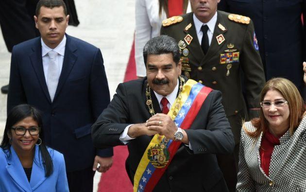Para que la OEA adopte una resolución sobre Venezuela se debe contar con mayoría simple de sus 35 Estados miembros. Foto: AFP