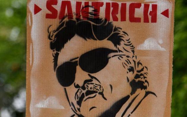 Santrich, a quien la justicia estadounidense investiga por presunta conspiración para exportar cocaína, volvió a prisión. Foto: AFP