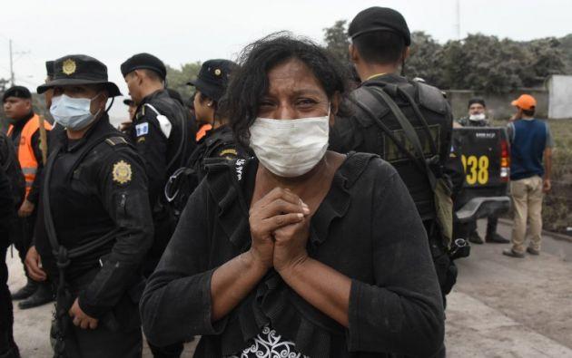 A pesar de la insistencia de los socorristas por encontrar indicios de vida, los esfuerzos parecen en vano ante la magnitud del desastre. Foto: AFP