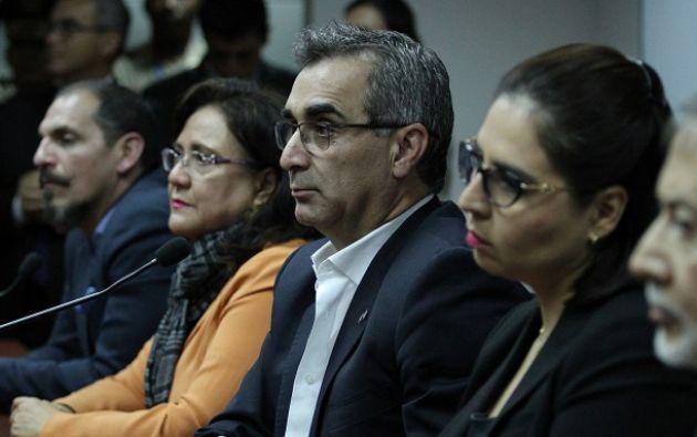 El CPCCS-T sostuvo que el titular del CJ, Gustavo Jalkh, incumplió su legitimidad en el cargo debido a un conflicto de intereses con el expresidente Correa.Foto: Judicatura