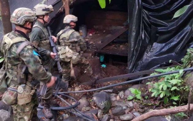 Las fuerzas de seguridad de Colombia y de Ecuador tienen como uno de sus principales objetivos a 'Guacho'. Foto: Fuerza de Tarea Conjunta Hércules
