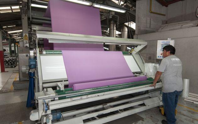 Fibrán es una de las empresas parte del convenio. Sus residuos sólidos reciben un tratamiento técnico. Foto: Segundo Espín