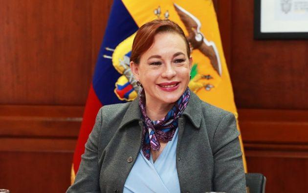 Espinosa se convertirá desde septiembre próximo en la primera latinoamericana en dirigir, por un año, la Asamblea del organismo internacional. Foto: Cancillería