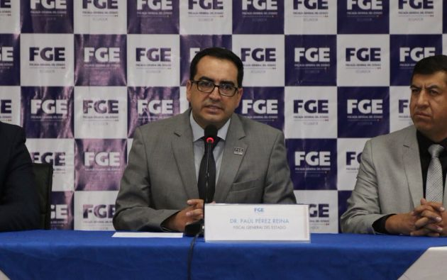 Según Pérez, las declaraciones de exfuncionarios señalan de dónde provinieron las órdenes para el secuestro. Foto: Fiscalía