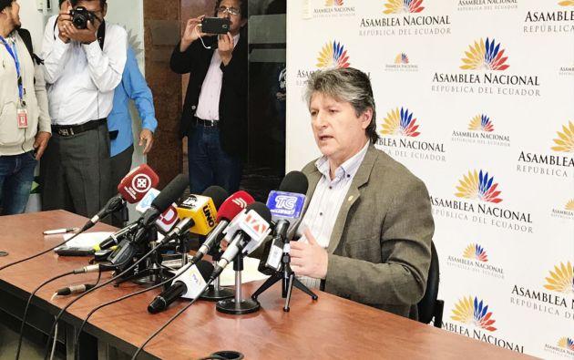 Pleno resolverá sobre el inicio del juicio político a Flores. Foto: Ministerio Agricultura