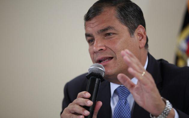 Según Cabezas, es improcedente el pedido de la CNJ por cuanto Rafael Correa ya no ejerce las funciones de Presidente. Foto: archivo