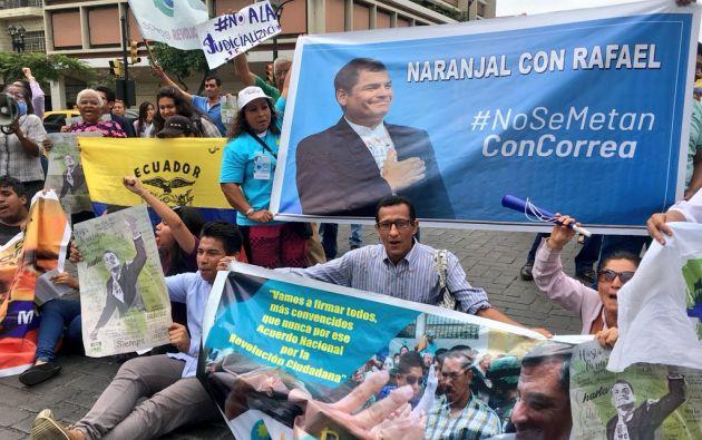 El exasambleísta Fernando Balda, conocido crítico de Correa, denunció en 2012 haber sido secuestrado en Colombia. Foto: Twitter Mov. Revolución Ciudadana
