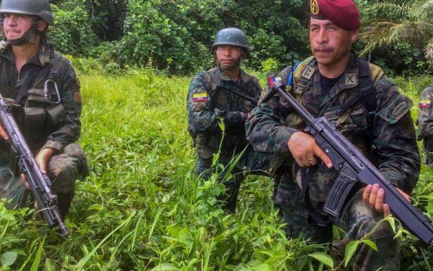Colombia y de Ecuador tienen como uno de sus principales objetivos a 'Guacho'. Foto: AFP