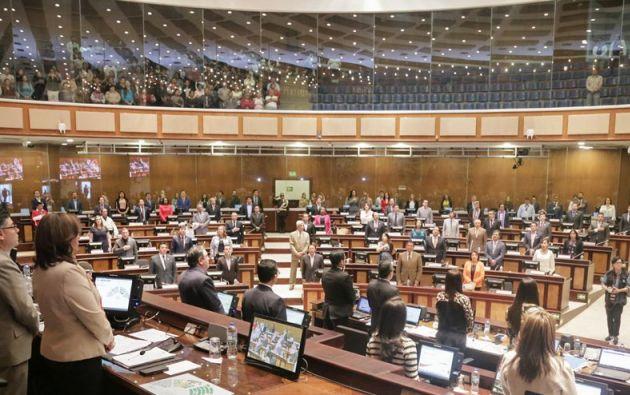 La bancada de CREO presentará una propuesta alternativa sobre las reglas macrofiscales. Foto: Asamblea
