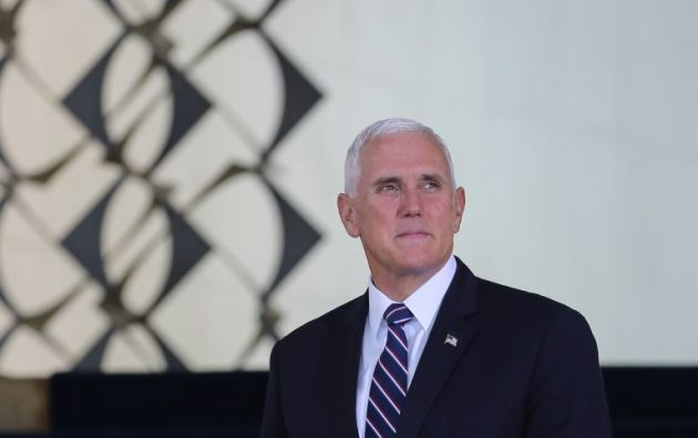 El segundo mandatario estadounidense tiene previsto arribar en la tarde a Quito procedente de Brasil. Foto: AFP