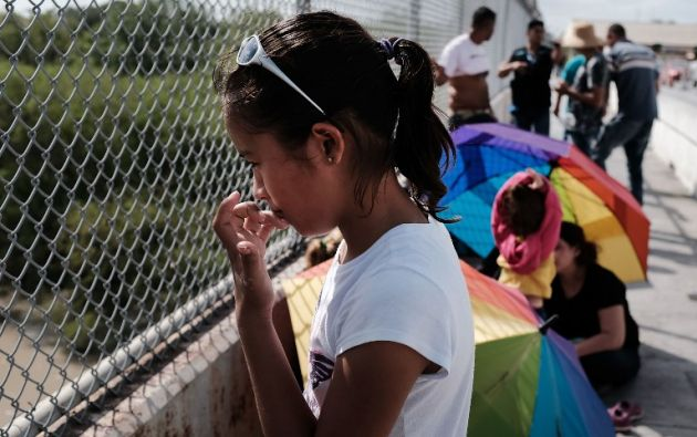 """El juez describió la separación de familias como una """"circunstancia caótica creada por el propio Gobierno"""". Foto: AFP"""