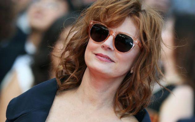 """Sarandon fue ganadora del Óscar a la mejor actriz por """"Dead Man Walking"""" (1995). Foto: AFP"""