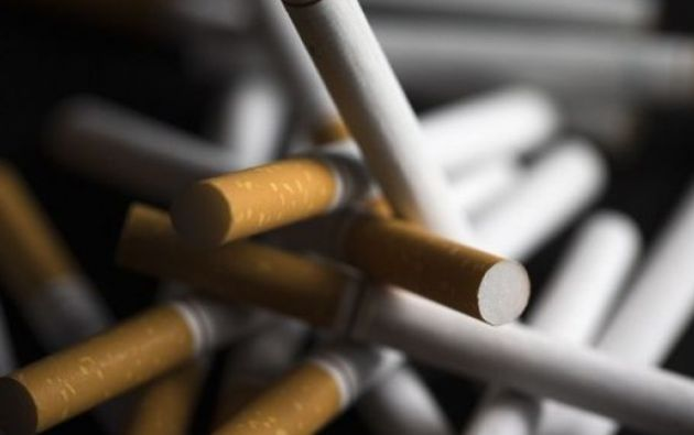 Cerca del 10% del mercado mundial de cigarrillos es ilícito. Foto: AFP