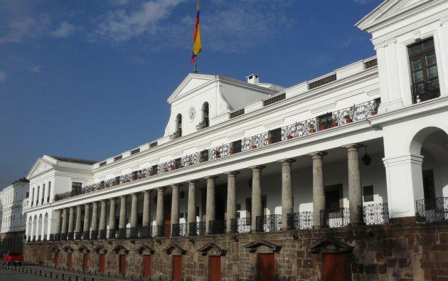 Moreno remitió al Consejo de Participación Ciudadana y Control Social Transitorio la terna. Foto: archivo