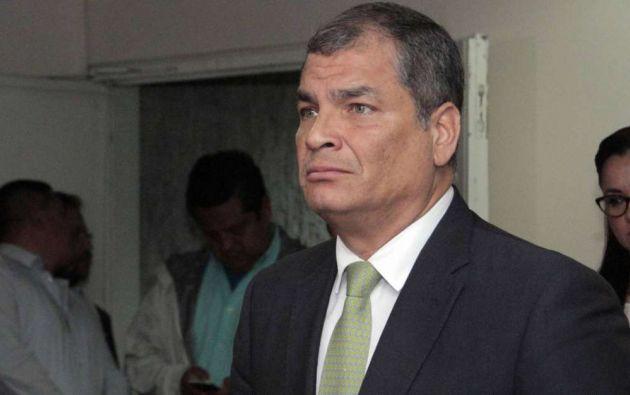 Correa cuestionó el dictamen y aseguró que la jueza se extralimitó en sus capacidades. Foto: archivo